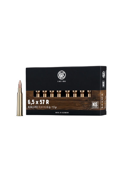 RWS 6,5x57R Kegelspitz 9,1 gr.