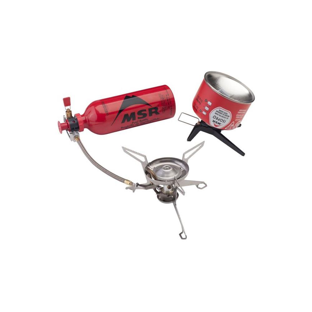 MSR WhisperLite Gasbrander Combinatie-1