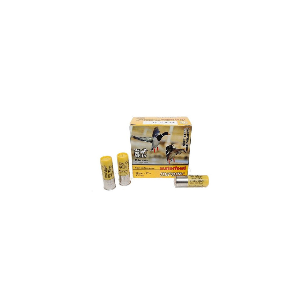 Clever Mirage T4 12/70 mm Soft Steel 32 gr No3-1