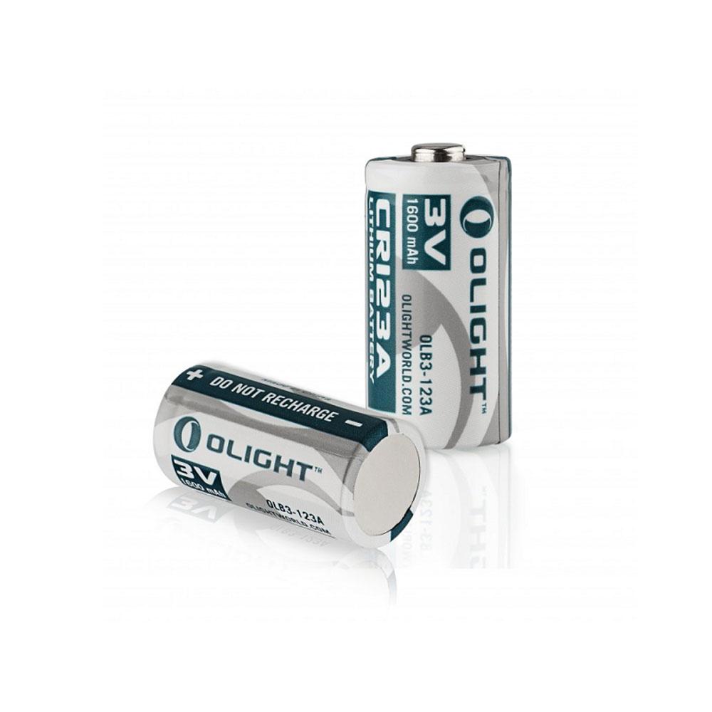 Olight CR123A Lithium Batterij 3V 1600 mAh-1
