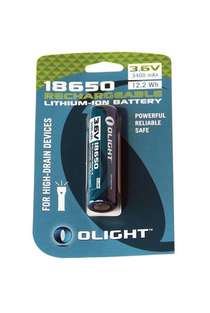 Olight 18650 Oplaadbare Lithium-Ion Batterij 3.6V 3400 mAh