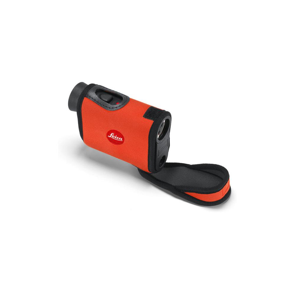Leica Rangemaster CRF Neopreen Hoes Oranje-1