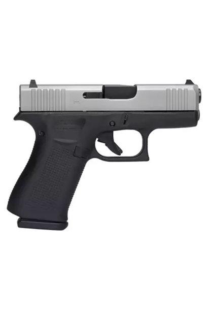 Glock 43X Silver Slide 9mm