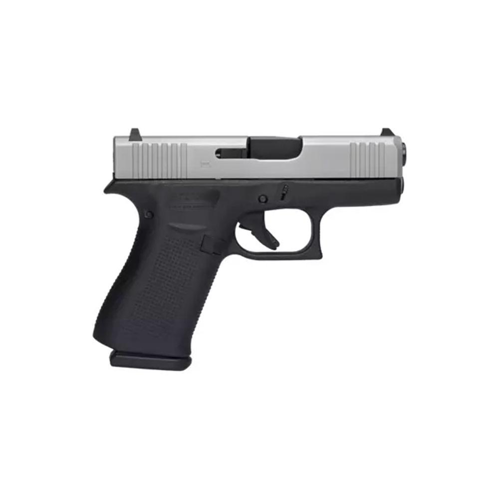 Glock 43X Silver Slide 9mm-1