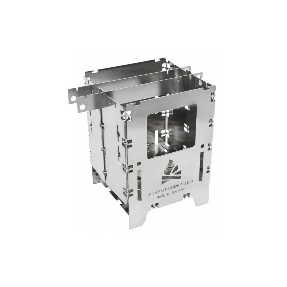Bushcraft Essentials Bushbox LF Titanium Outdoor Stove-1