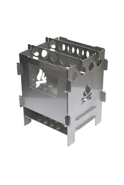 Bushcraft Essentials Bushbox Outdoor Pocket Stove