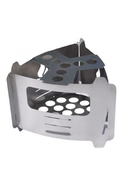 Bushcraft Essentials Bushbox Ultralight Outdoor Pocket Stove
