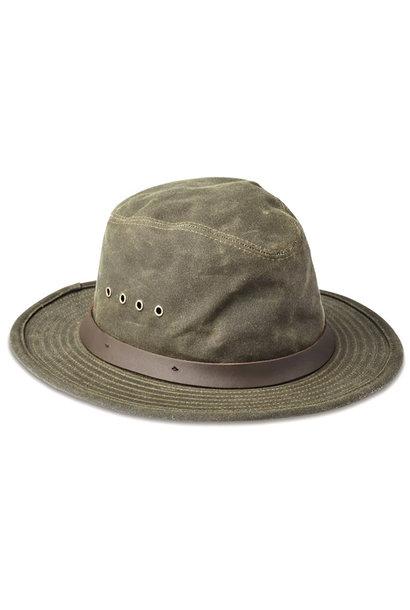 Filson Tin Cloth Packer Hoed - Otter Green