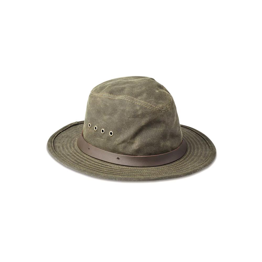 Filson Tin Cloth Packer Hoed - Otter Green-1