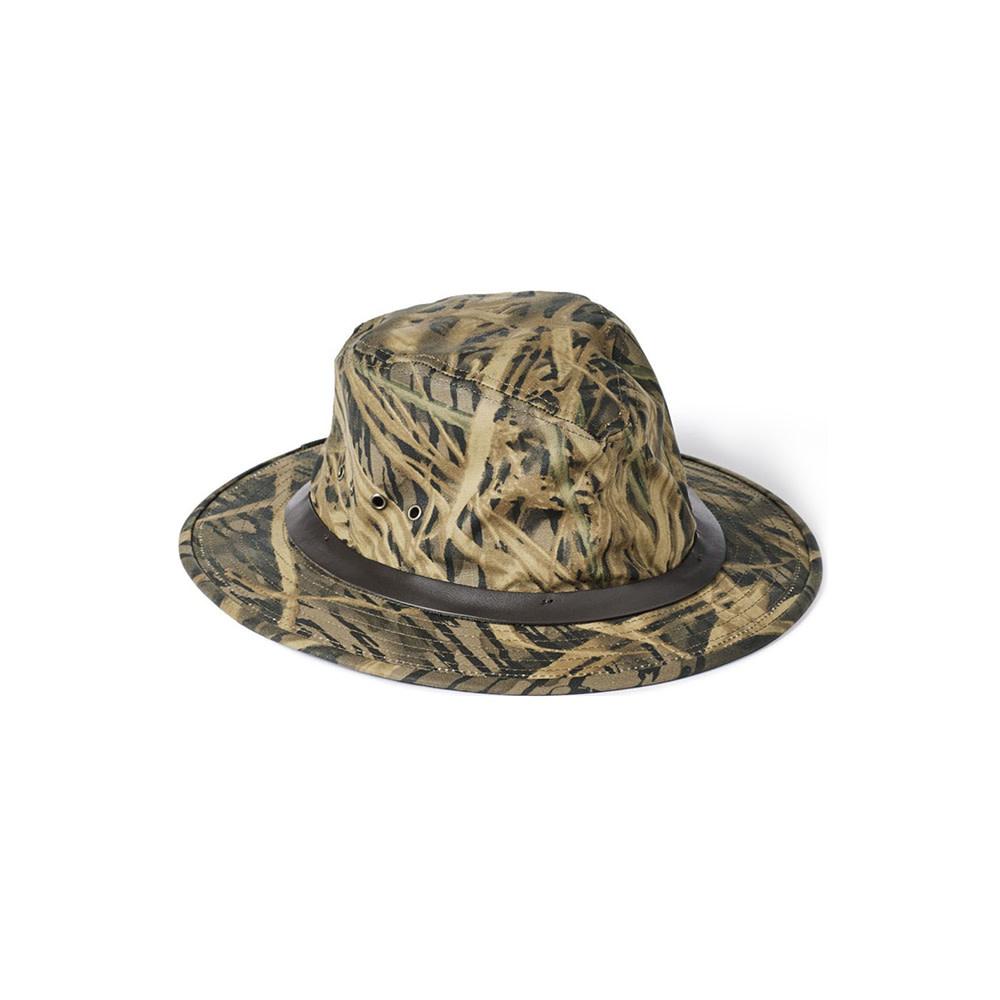 Filson Tin Cloth Packer Hoed - Shadow Grass-1