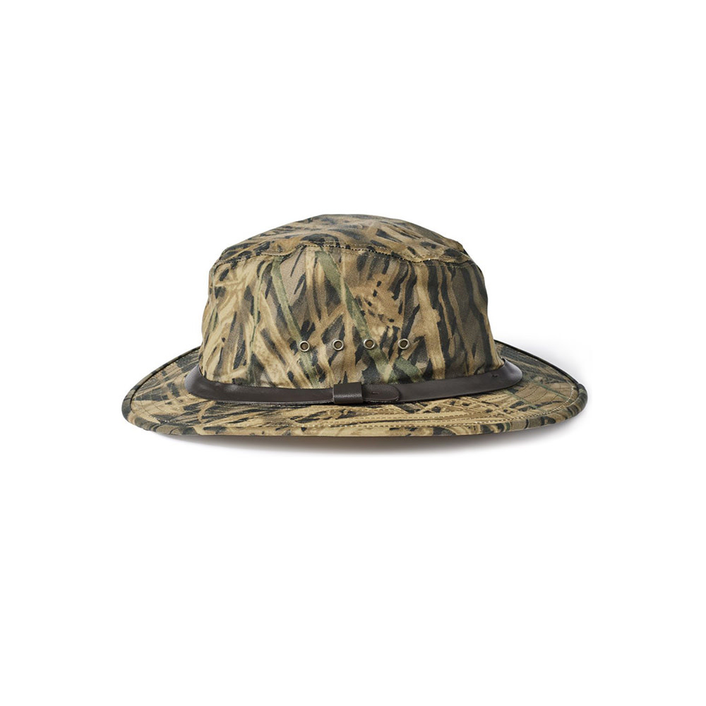 Filson Tin Cloth Packer Hoed - Shadow Grass-2