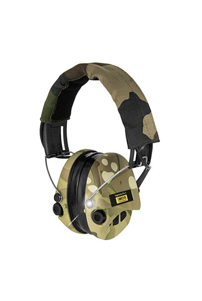 Sordin Supreme Pro-X Full Camo Met Led En Gel