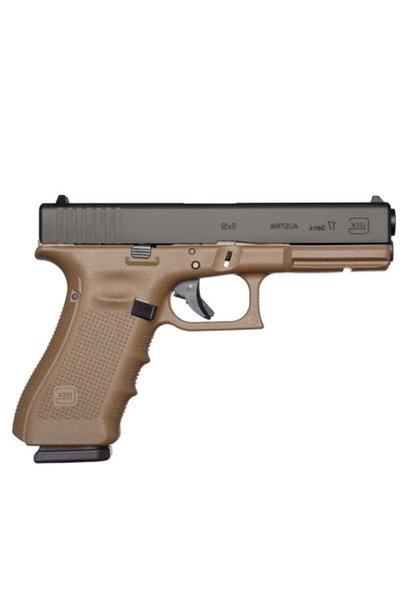 Glock 17 Gen 4 FDE 9x19mm