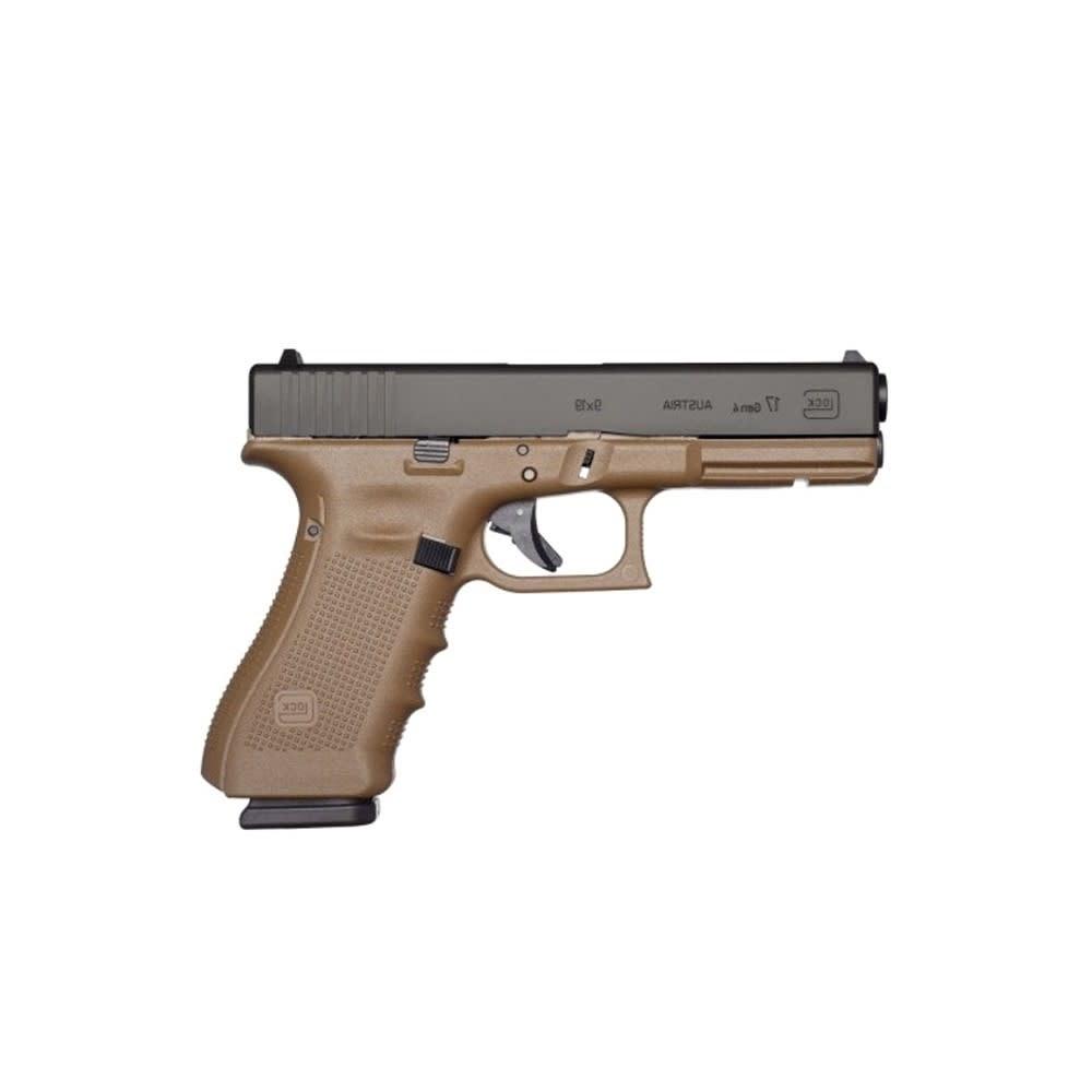 Glock 17 Gen 4 FDE 9x19 mm-1