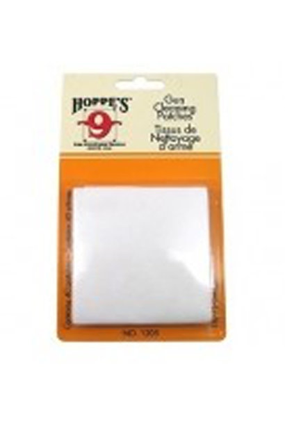 Hoppe's Gun Cleaning Patch, no. 5, 16 tot 12. (25 per pack)