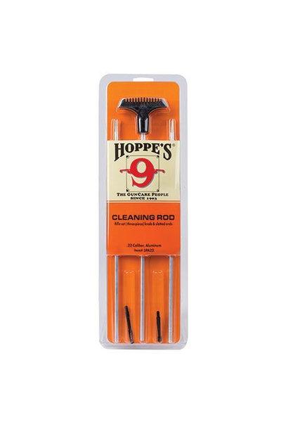 Hoppe's Three-Piece Rifle Rod, .22 Kal., Aluminium