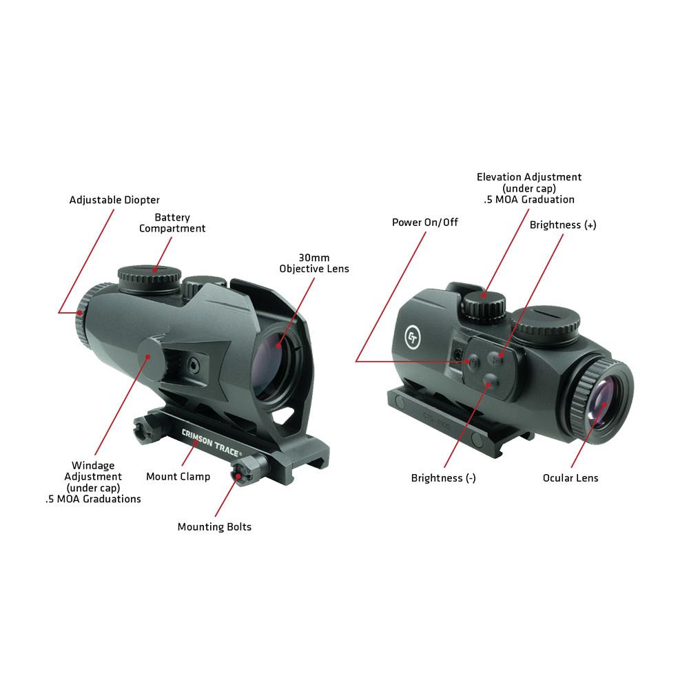 Crimson Trace Electronic Sight CTS-1100-3