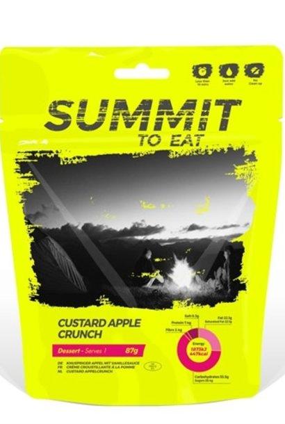 Summit to Eat Dessert Custard Apple Crunch