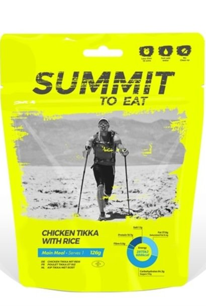 Summit to Eat Chicken Tikka with Rice