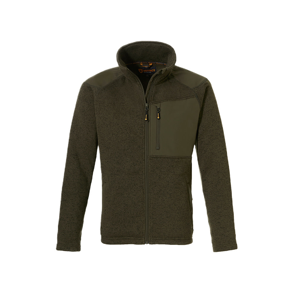 Rovince Fleece Coarse Olive Green-1