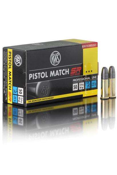 RWS Pistol Match SR .22 LR