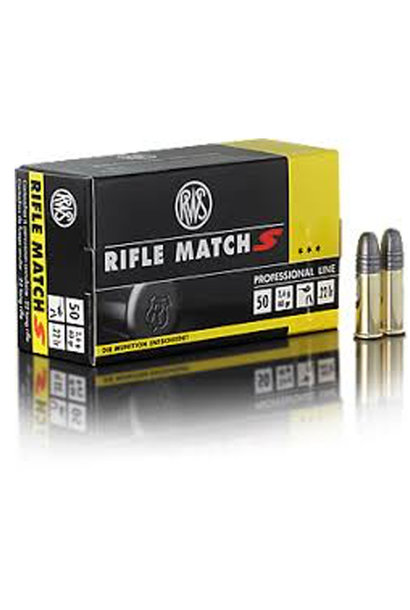 RWS Rifle Match S .22 LR