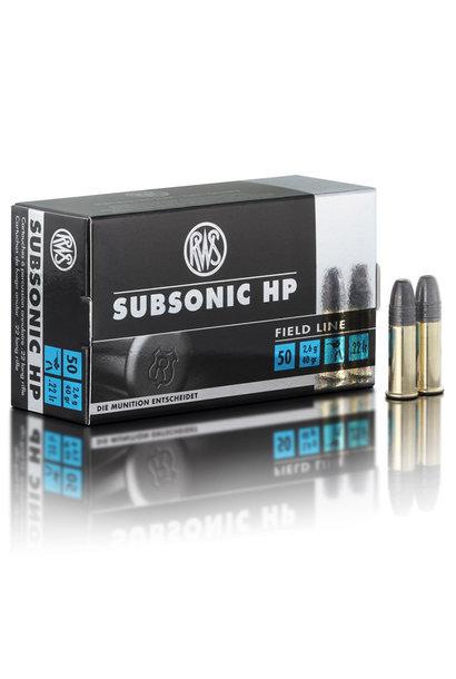 RWS Subsonic HP .22 LR