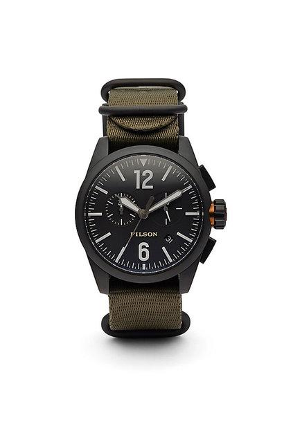 Filson Chronograph Horloge Donkergroen