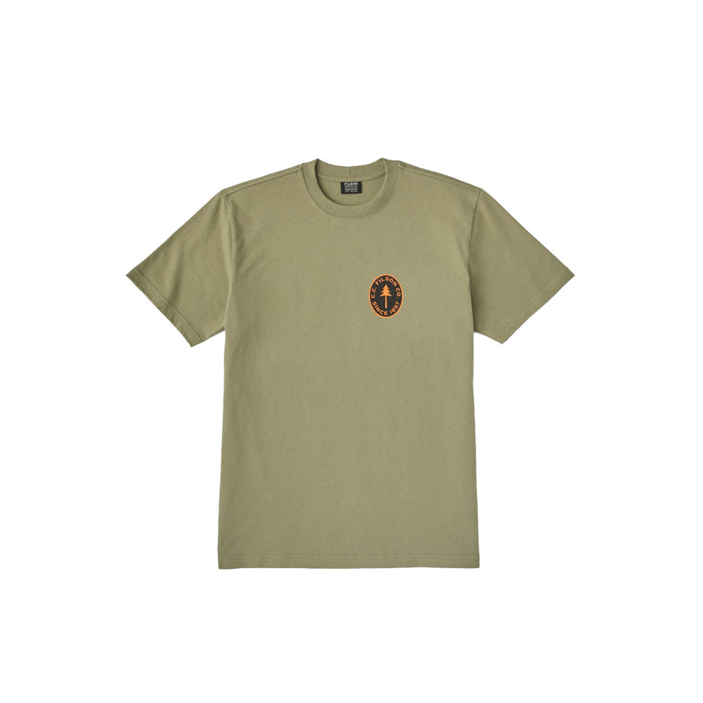 Filson S/S Outfitter Graphic T-Shirt - Burnt Olive-1