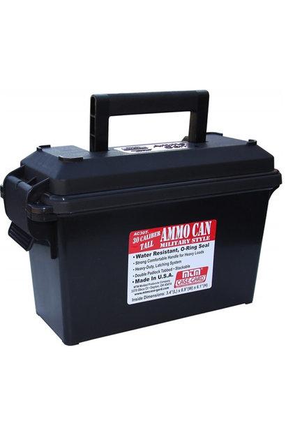 MTM Case Gard Ammo Can 30 Kaliber - Tall Black