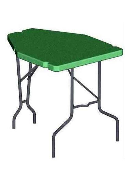 MTM Case Gard Predator Shooting Table - Portable Bench Rest Green