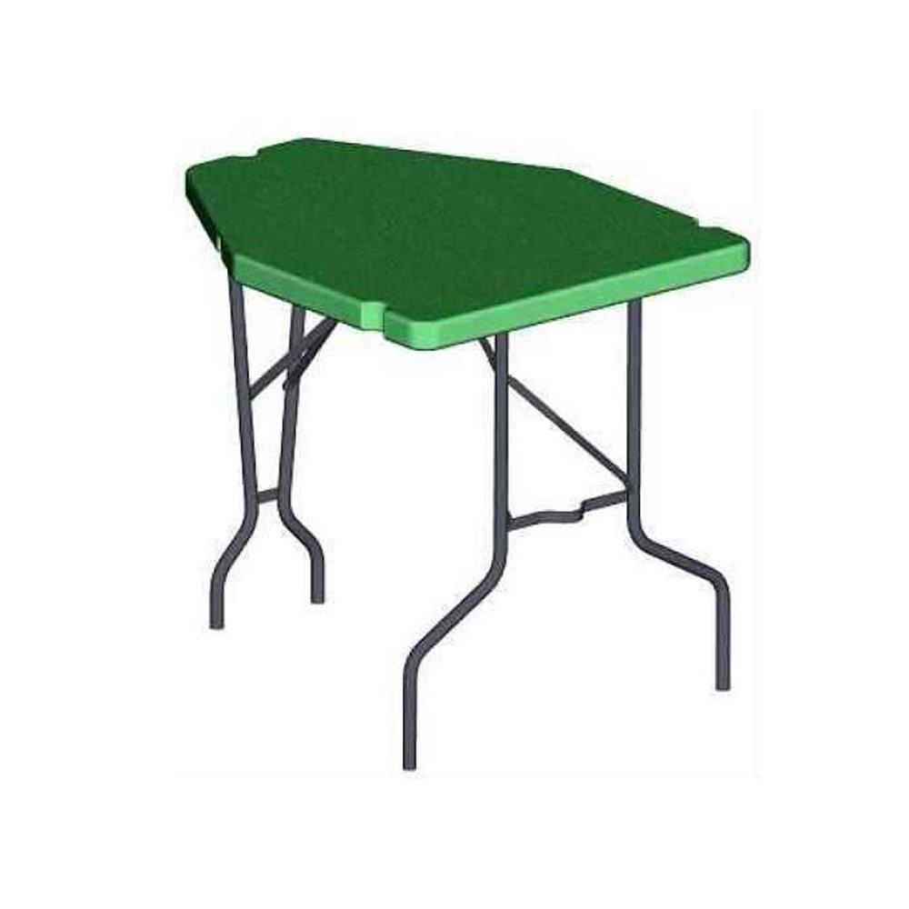 MTM Case Gard Predator Shooting Table - Portable Bench Rest Green-1
