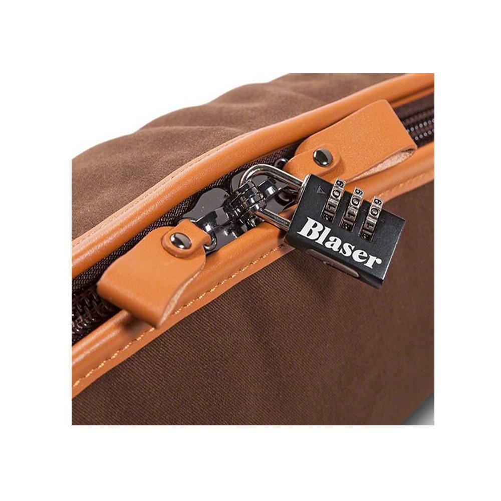 Blaser Geweerfoudraal Twill -Leather Brown Type B-4