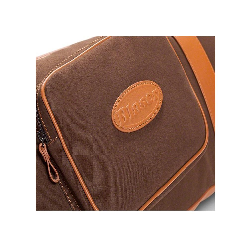 Blaser Geweerfoudraal Twill -Leather Brown Type B-3