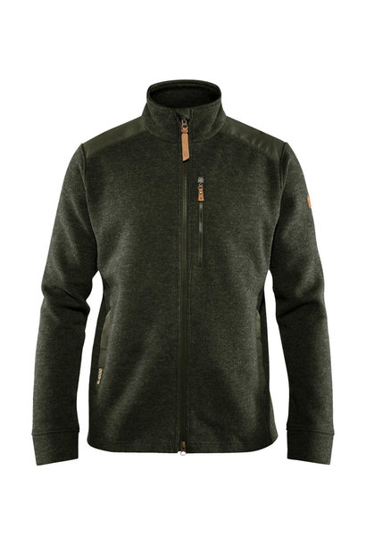 Fjällräven Singi Fleece Jas M Deep Forest