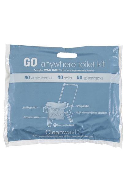 Cleanwaste Go Anywhere Toiletkit