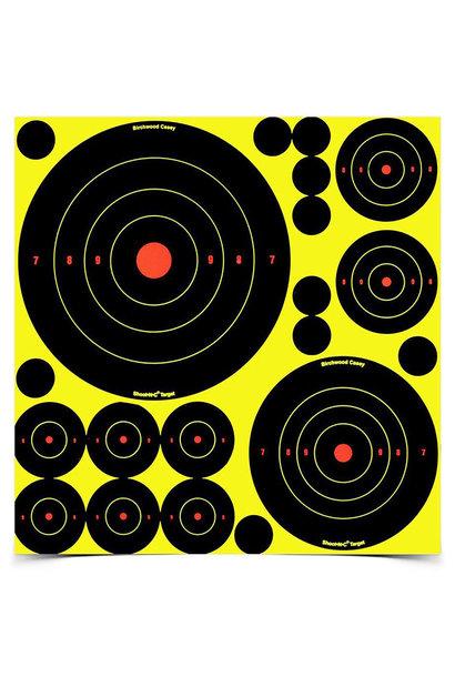 "Birchwood Casey - Shoot·N·C 1''-2""-3"" Assorti"