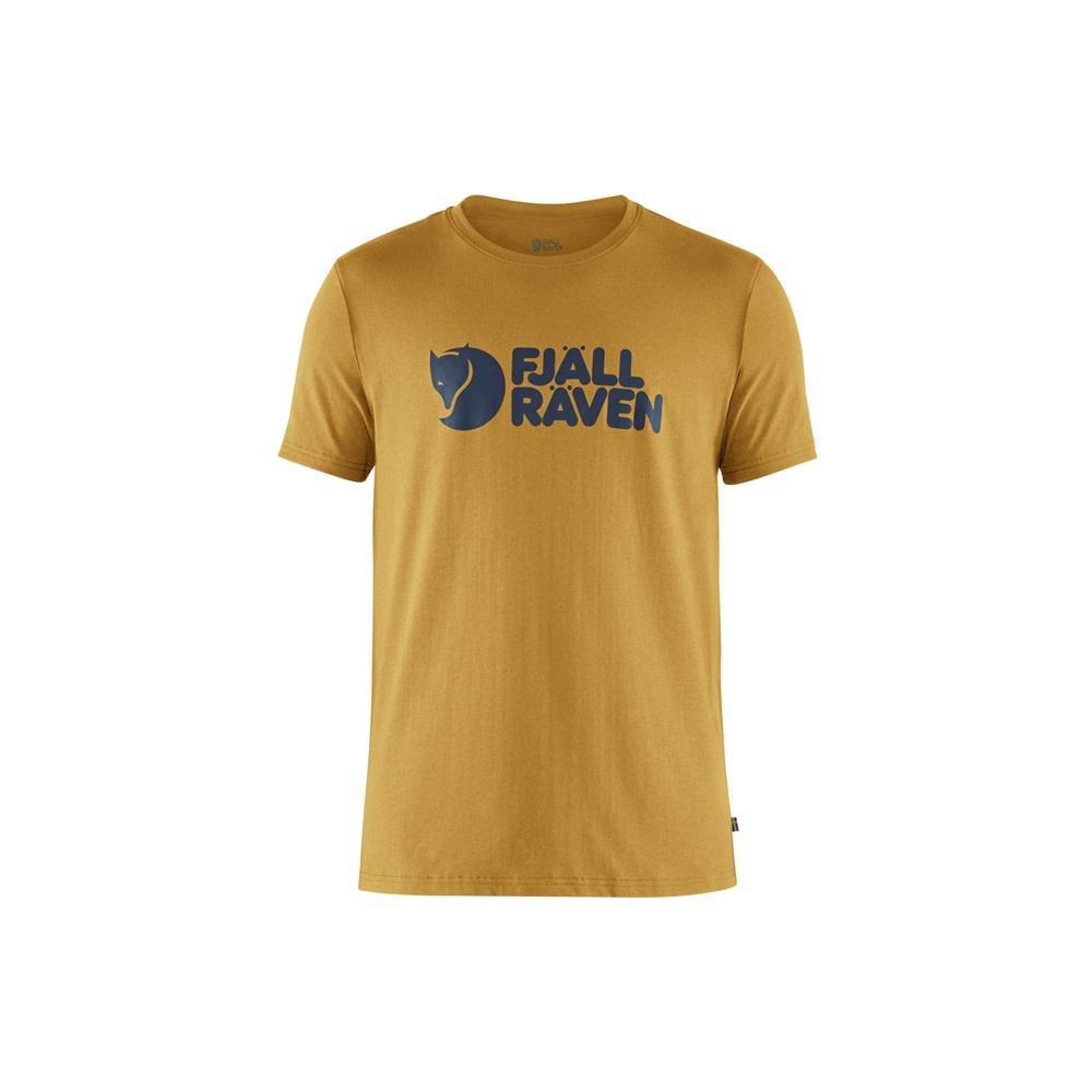 Fjällräven Logo T-Shirt - Oker-1