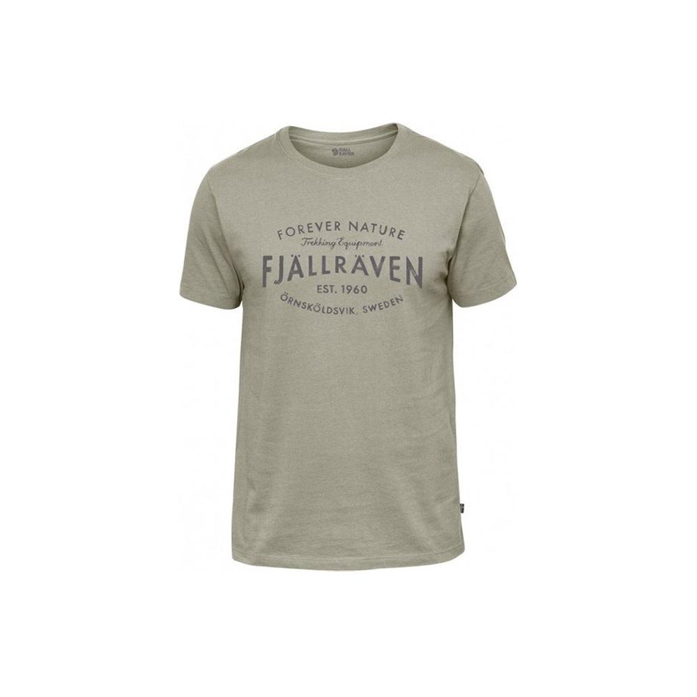 Fjällräven Est. 1960 T-Shirt - Fog-1