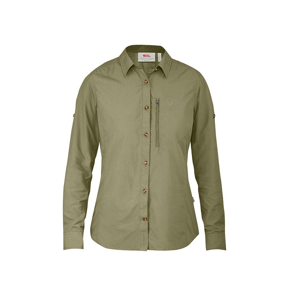 Fjällräven Abisko Hike Dames Overhemd - Savanna-1