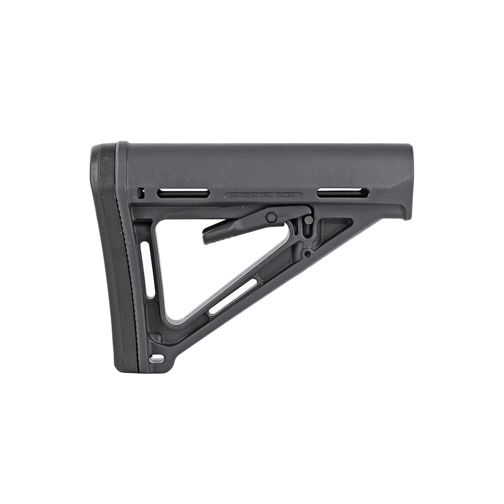 Magpul MOE Carbine Stock - Commercial Spec- Stealth Gray-1