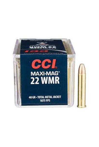 CCI Maxi-Mag 40Gr. HP .22 WMR