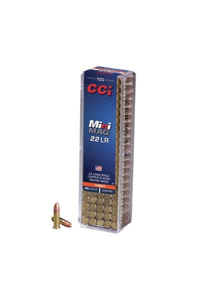 CCI Mini-Mag 40Gr. HS .22 LR