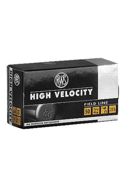 RWS High Velocity .22 LR (50st/box)