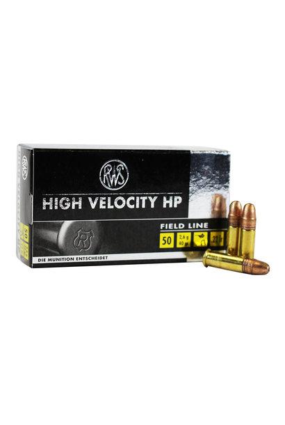 RWS High Velocity HP .22 LR (50st/box)