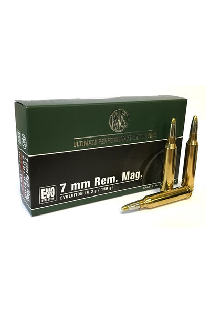 RWS Evolution 159Gr. (.284) 7mm