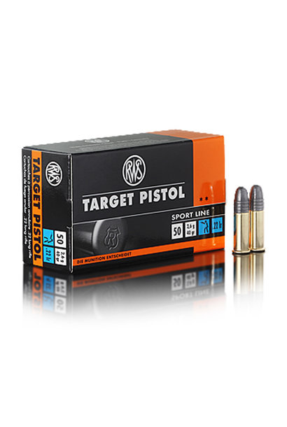 RWS Target Pistol .22LR (50st/box)