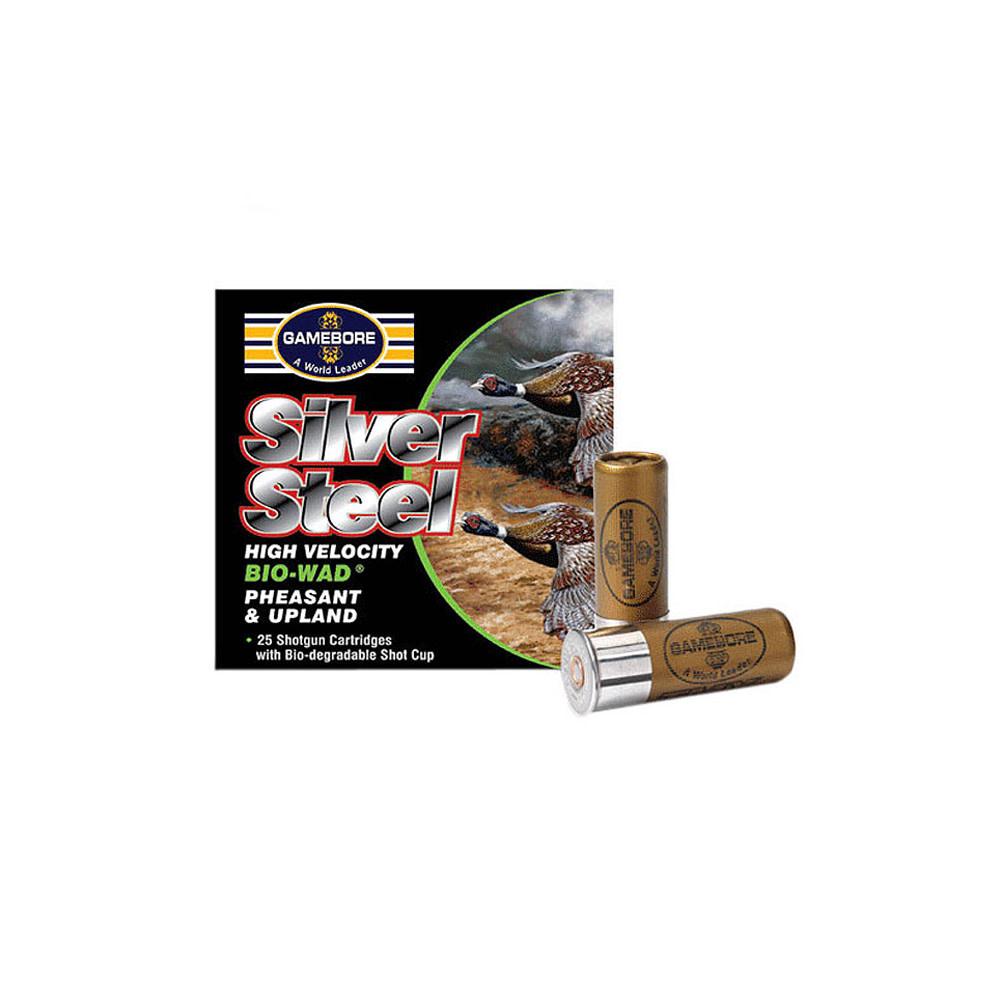 Gamebore Silver Steel Bio Wad 32g H4 12-1