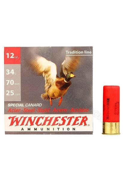 Winchester Steel Special Canard Kal. 12 H4/34 Gram
