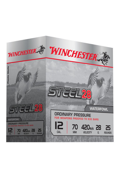 Winchester Steel 28 Ordinary Pressure Kal 12 H5/28G